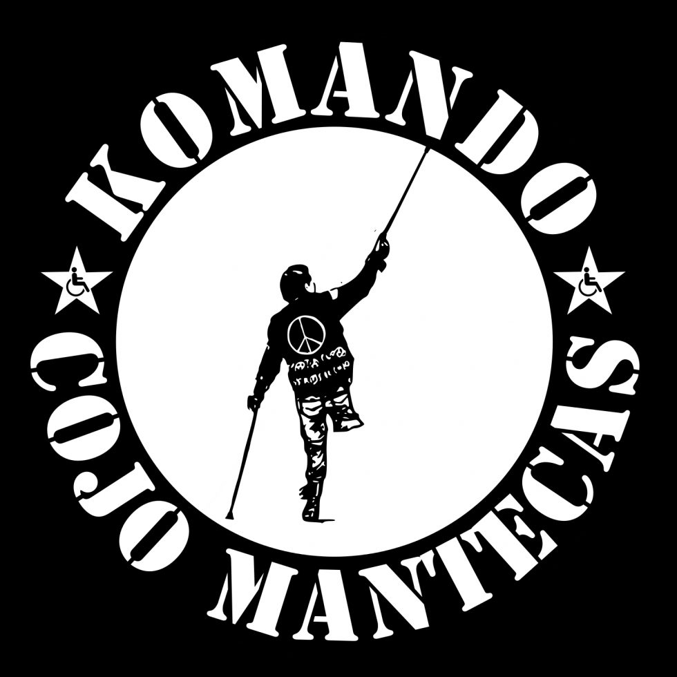 """La imagen y el concepto """"Komando Cojo Mantecas"""" está bajo una Licencia Creative Commons Atribución-NoComercial-SinDerivar 4.0 Internacional."""